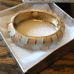NEW J.Crew Gold Bangle Bracelet